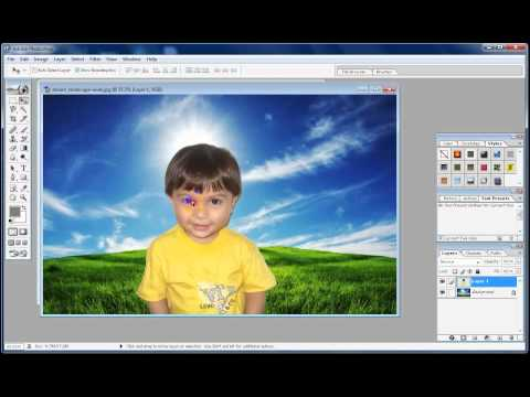 how to change the background of a picture? | Simple | 2017 | Photoshop