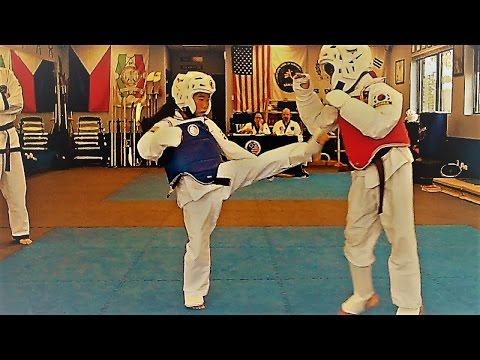 Martial Arts Promotion Sparring - Tang Soo Do / Taekwondo