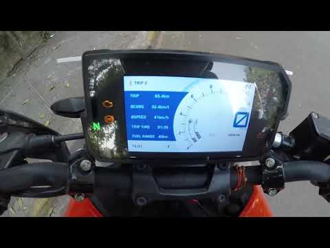How to check Mileage KMPL on KTM Duke 390 2017 | Fuel Economy