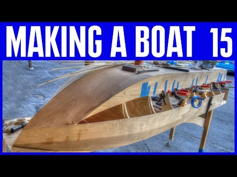 How to Build a Wooden Boat #15 Plywood Hull