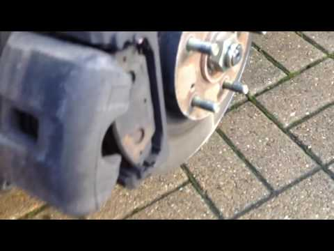 Front brake pad replacement on a Honda Civic type r , how to change also accord frv Jazz hrv crv