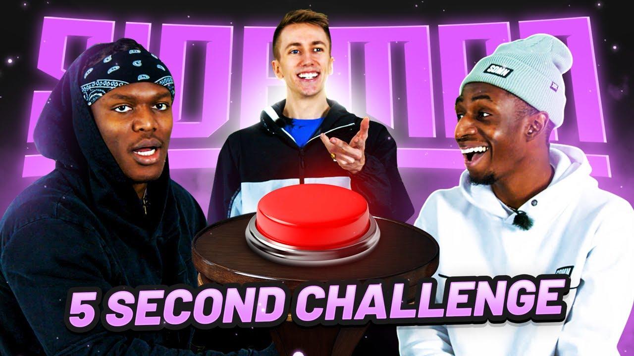 SIDEMEN 5 SECOND CHALLENGE