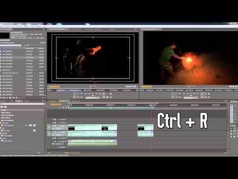 Reverse and Slow Motion Tutorial - Adobe Premier Pro Tutorial
