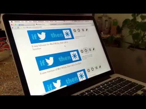 Twitter alerts with Particle Photon and IFTTT