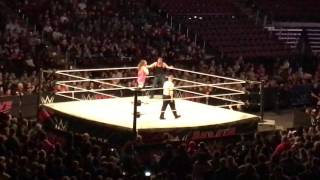 Dean Ambrose vs Dolph Ziggler Intercontinental Title Match WWE Live Bossier City 1/7/17