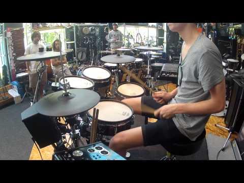 V Drums Australian championship lewis new