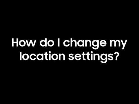 Galaxy S8: Location Settings