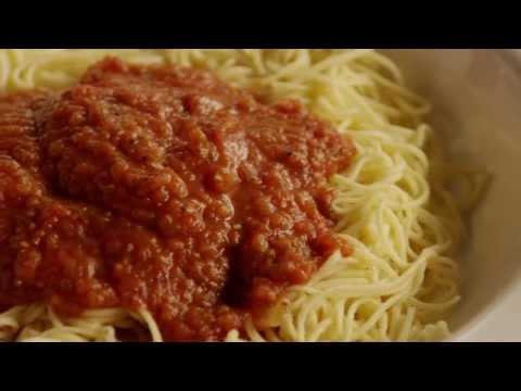 How to Make Quick Spaghetti Sauce | Pasta Recipes | AllRecipes