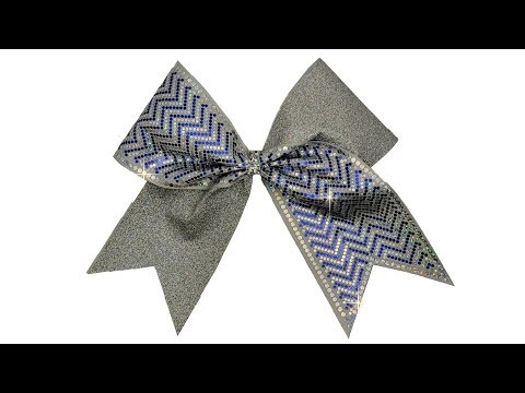 How To Make A Holographic Chevron Spangle Cheer Bow