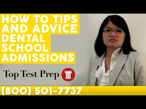 Dental School Admissions: How to Get Accepted - TopTestPrep.com