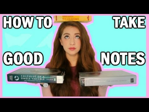 How To Take Good Notes + My Study/Revision & Organization Tips!