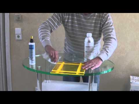How to build acrylic boxes with a combination mill *** Kasten kleben mit der Kombifräse