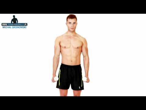 Biceps, triceps i obręcz barkowa - ĆWICZENIA