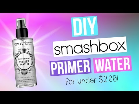 DIY Smashbox Primer Water!