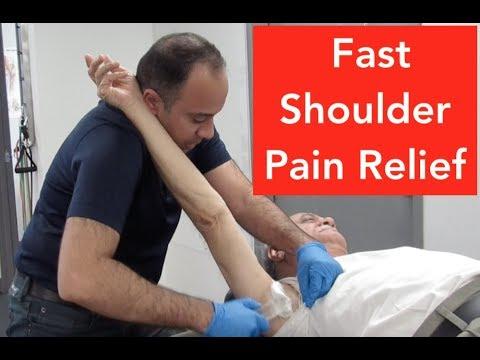 Shoulder Returned Near Full Range of Motion in Minutes!