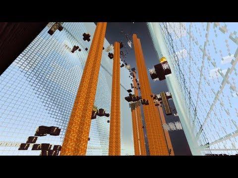 Minecraft Xbox - Notch Land - Hardcore Parcore - Part 2