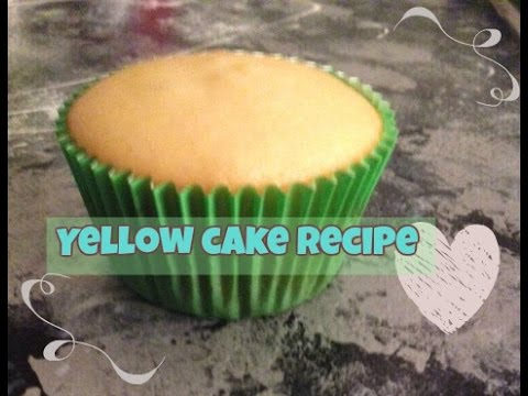 Easy Homemade Yellow Butter Cake/Cupcakes Recipe