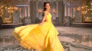 Emma Watson Sings as Belle in a