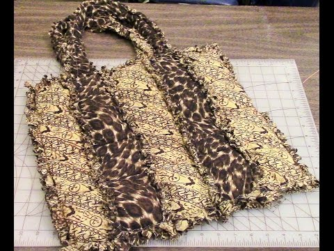 eBay Auction - New Rag Quilt Tote Bag Handmade by Darlene