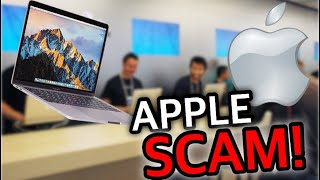 Apple Store Genius Bar Tried SCAMMING Me! **PROOF**
