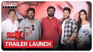 RDX Love Movie Trailer Launch   Paayal Rajput, Tejus Kancherla, C Kalyan
