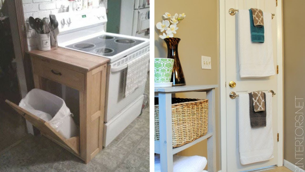 29 Sneaky Tips For Small Space Living