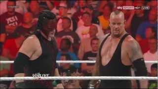 Kane & Undertaker on RAW 1000 [23.07.2012]