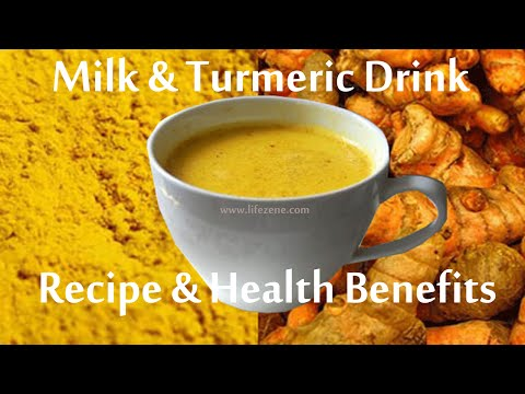Golden Milk Recipe | How to Make Turmeric Milk for Weight Loss?