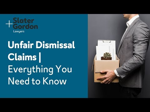 Unfair Dismissal Claims | Everything You Need to Know