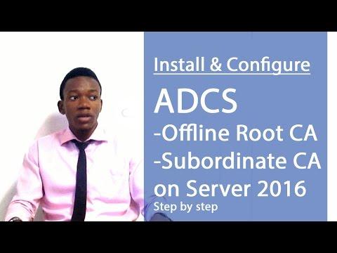 Install & Configure Offline Root CA on Server 2016 (Part 1)