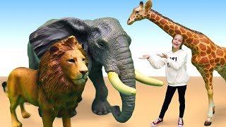Download Видео игрушки для детей — Животные Collecta — Дикая природа Video