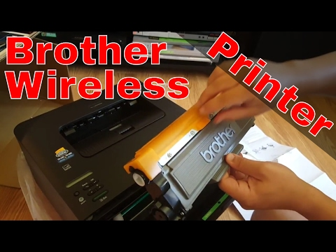 Brother HL-L2340DW Printer Unboxing + Setup + Test + Overview | Wireless Budget Printer