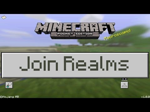 How to Join Realm Servers in Minecraft Pocket Edition