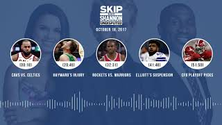 UNDISPUTED Audio Podcast (10.18.17) with Skip Bayless, Shannon Sharpe, Joy Taylor | UNDISPUTED
