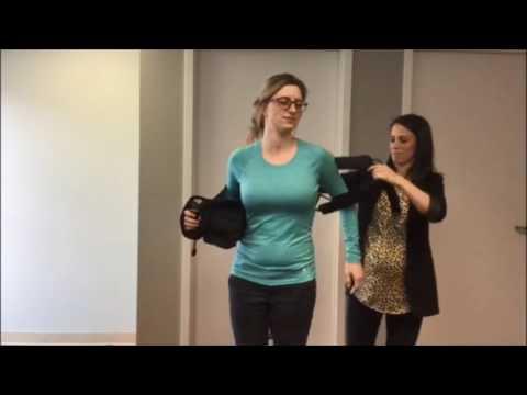Arthritis & Injury Care - Arc 2.0 Shoulder Brace Donning Technique