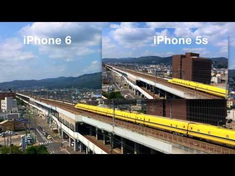 Slow-motion video Comparison -iPhone 5s vs iPhone 6-
