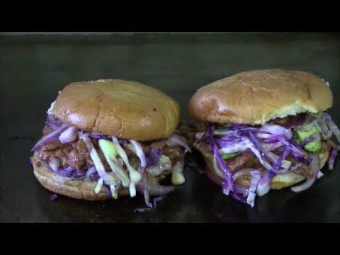 Asian Fusion Bulgogi Beef Burger