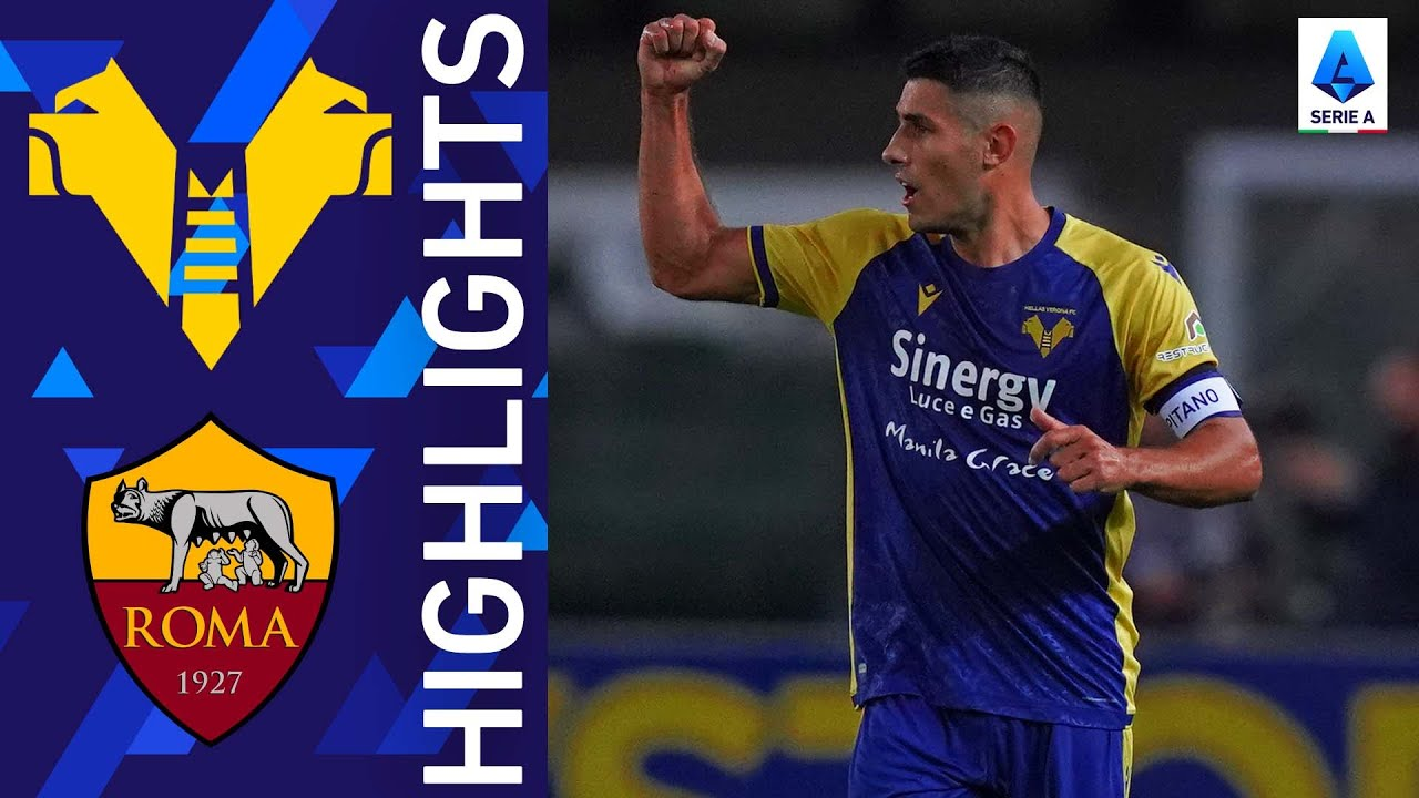 Verona 3-2 Roma   Incredible match at the Bentegodi!  Serie A 2021/22