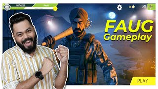 FAUG Hands On Gameplay ⚡ FAU-G All Modes, Exclusive Merchandise, Weapons \u0026 More