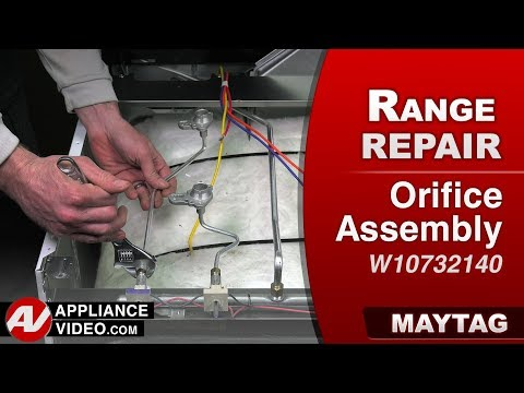 Maytag Range - Oven - Orifice Assembly issues and diagnostics