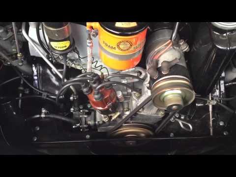 1964 PORSCHE 356C  STARTING ENGINE COMPLETE OVERHAULED