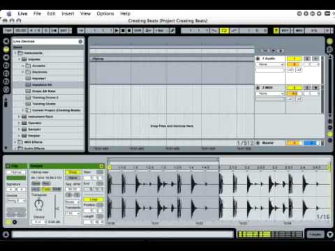Ableton: Creating Beats