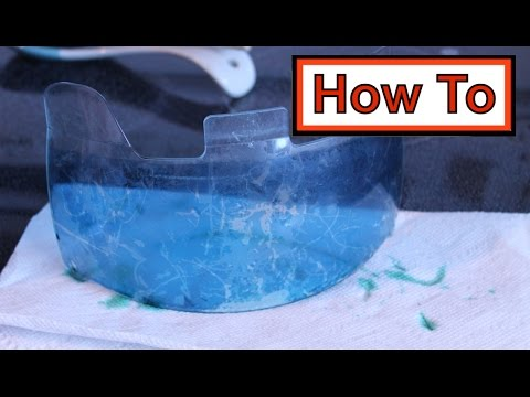 How to | Tint/Dye a Visor