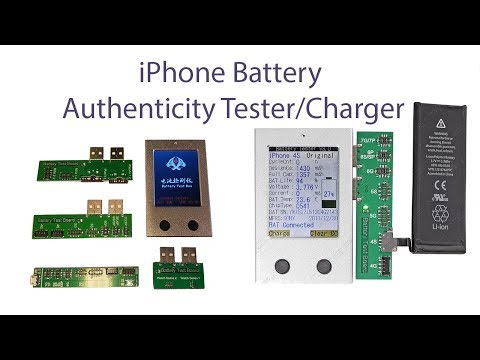 Professional Battery Authenticity Tester for Apple iPhone, iPad, Watch Battery
