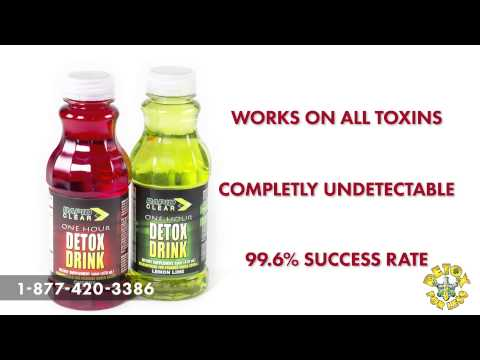 Pass your Urine Test With Rapid Clear Detox Drinks