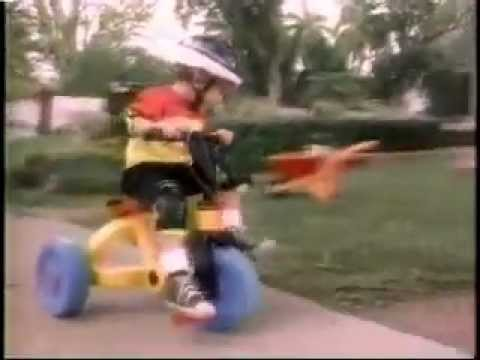 Fisher Price Mountain Bike Tricycle Commercial from 1993