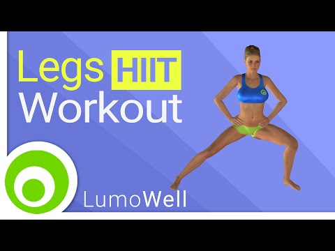 Leg workout: best exercise to tone your thighs at home (no equipment)