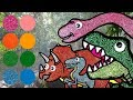 Dinosaurs For Kids Dinosaurs Learn Name And Sounds Tyrannosaurus Raptor Triceratops