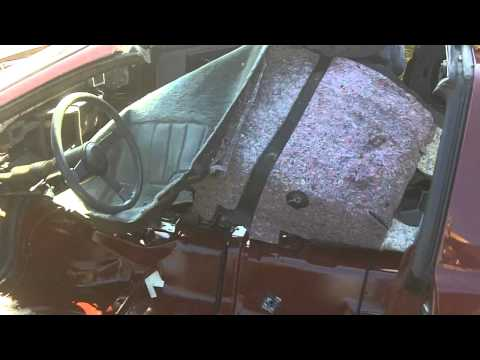 How to Remove your cars carpet