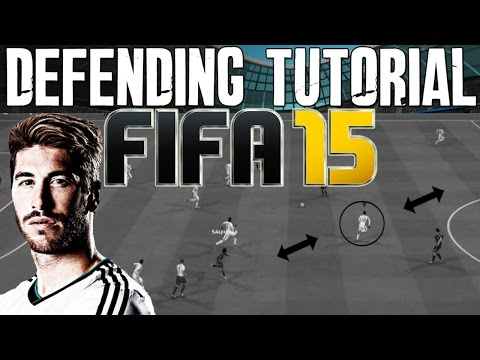 FIFA 15 Defending Tutorial | How to Intercept Passes - Jockey & Best Pressure | FIFA 15 Guide